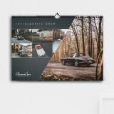 Wandkalender - retrospektiv 2019 (DIN A3)