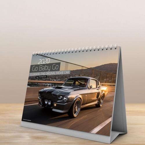"Tischkalender ""Go-Baby-Go"" 2020 (DIN A5) - ChromeCars®"