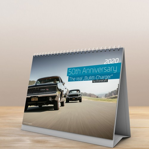 "Tischkalender ""The Real Bullitt Charger"" 2020 (DIN A5) -..."