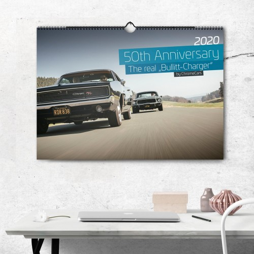 "Wandkalender ""The Real Bullitt Charger"" 2020 (DIN A2) -..."